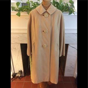 Vintage 50's La Vigna Cashmere Coat